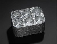 aluminium food container - New Cavity Aluminium Foil Muffin Container cmx17cmx4 cm Backing or Wrapping Food Set