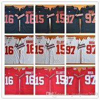 Wholesale 2016 New Style Nick Bosa Ohio State Buckeyes J T BARRETT Eddie George Archie Griffin College Football Alternate Elite Jerseys