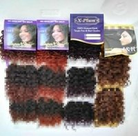 Wholesale Supev Stav JERRY Darling Charme Jerry Short Curl Hair Cabelo Blended Hair Extension Braids Inch Hair Weaving