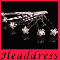 antique hair ornament - The bride crown type U hair accessories hairpin barried Pearl crystal hairpin head ornaments factory direct spot