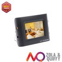 """2.5 """"LCD portátil de seguridad CCTV cámara de vídeo probador"""