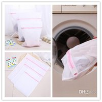 Wholesale 60pcs Mesh Wash Bags Washer laundry bag Zippered for distinguish Bras Underwear socks and so on Mum s Day Best Gift