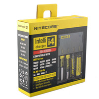 aa nimh intelligent charger - 100 authentic Nitecore i4 Intellicharger Universal Battery Charger I4 Intelligent charging Power For Li ion NiMH AA