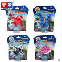 airplane wing types - All Types New Super Wings Mini Airplane ABS Robot Toys Action Figures Super Wing Transformation Jet Animation Kids Best Gift