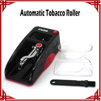 adding machine rolls - sp New Automatic Tobacco Cigarette Rolling Roller easy operate blue and red Automatic add Auto Cigaret DIY Makeer Machine