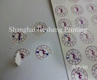 Wholesale customized fragile date warranty seal Screw sticker label Friable labels