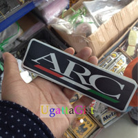 arc racing - 20XCar styling doodle brand stickers team Racing JDM ABT Sportling Anto Parts ARC MITISUBISHI METALTEK PJ1 Car Styling Decal