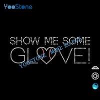 baseball glove design - Fashion Baseball Show Me Some Glove Rhinestone Iron On Transfer Designs For Garment Accessory