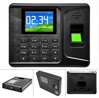 Wholesale A E260 Time Recorder Clocking In Clock Machine Attendance Check Fingerprint Password
