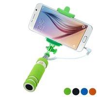 best travel tripod - Best Deal Travel Handheld Fold Mini Self Pole Portrait Monopod Stick Extendable Pau de Selfie Tripod Universal