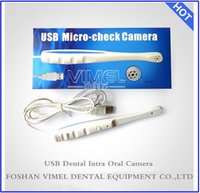 300.000 píxeles endoscopio dental Pro-6 Leds intraoral dental cheque micro cámara digital USB 2.0 640x480
