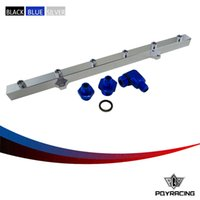 Wholesale PQY STORE New FUEL RAIL For BMW E36 E46 High Quality Blue fuel rail E36 PQY5474