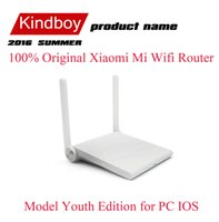 Cheap 100% Original Xiaomi Mi Wifi Router Portable Mini Smart Router Support Throughwall Model Youth Edition for PC IOS Android PA2810