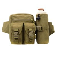 Wholesale Original Durable Outdoor Waist Fanny Pack Men sTactical Hunt Camp Hiking Bottle Bag Thigh Pouch Hot Sale