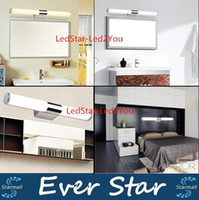 Wholesale 40cm cm cm cm minimalist led mirror light bathroom wall lamp bedroom makeup lighting V W W W W Led Indoor Lighting