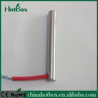 Wholesale 220V W right angle cartridge heater built tempertaure sensor with extension wire