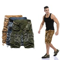 Wholesale 2016 Military Male Board Shorts Summer Men s Camouflage Army Cargo Shorts Workout Shorts Homme Casual Bermuda Trousers plus size