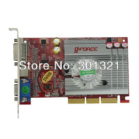 Wholesale NF FX AGP MB Graphics Video Card BIT DDR TVO VGA DVI Dropship with tracking number