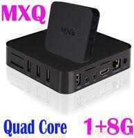 Wholesale MXQ Android TV Box Quad Core Amlogic S805 Smart Media Player Set Top OTT IPTV Boxes GB GB With XBMC KODI Pre installed