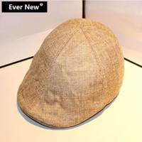 Wholesale Fashion Top Quality Pure Color Flat Beret Cap Boina Masculina Beret For Men Women Cap Boinas Femininas Casual Beret Hat