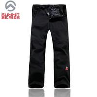 Wholesale New Winter Brand Pants Men Hiking Softshell Pants Men Women Windproof Waterproof Thermal For Hiking Camping Ski