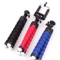 Wholesale Newest Car Phone Holder Flexible Octopus Tripod Bracket Stand Mount Monopod Styling Accessories For Mobile Phone Samsung Camera