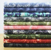 Wholesale Cotton Tie Dye Leggings - Wholesale 10 colour Snowflake tie - dyed elastic washing denim fabric, print satin fabric,tweed Leggings skirt fabrics B210