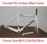 Wholesale Cervelo R5 carbon bike frames carbon frame size cm carbon road bicycle frameset can be customized