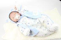 Unisex 3-4 Years silicone 20 inch Soft Lifelike Baby Boy Doll Reborn Sleeping Baby Dolls Alive Baby Dolls for sale
