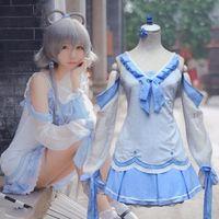 adopt games - HOT Anime Hatsune Miku VOCALOID Cosplay Costume Summer Lovely Girls Dress Adopt Imported Fabrics Fashionable Joker