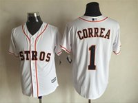 astros colors - MLB Houston Astros CORREA Orange White Colors New Men s Baseball Jerseys ALTUVE BIGGIO Flexbase all sizes MIX ORDER