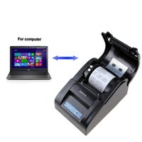 Wholesale Koolertron Thermal Receipt Printer With USB SERIAL mm POS mm sec Tickets Printer for Restaurant and Supermarket