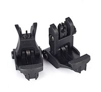 ar set - AR Rapid Tactical Front And Rear Flip up Back up Sight Set For Picatinny Rail