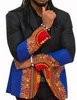 africa singles - New Style Customized Prined Men Blazer Traditional Clothing Dashiki Africa Style Suit Casual Fashion Elegant WYN177