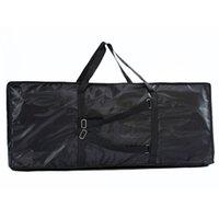 Wholesale Waterproof Oxford Cloth Double layer Foam Electronic Keyboard Bag Storage Case for key Electronic Organ x41x13 cm