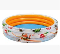 Wholesale 3 Rings Inflatable Swimming Pool Children Sea Pool Sandpit Fishing Pond