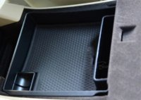 armrest auto - Car Styling ABS Central Armrest Storage Box Pallet Container For Volvo XC60 V60 S60 Auto Accessories