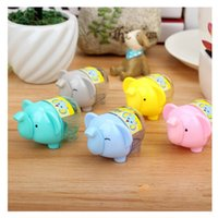 Wholesale One Random Color Elephant Pencil Sharpener Gift for Children s Products