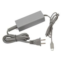 Wholesale New US EU Plug Wall Charger AC Adapter Power Supply For Nintendo Wii U Gamepad
