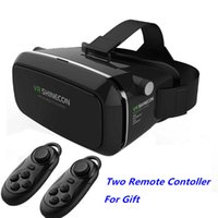 Wholesale VR SHINECON Virtual Reality D Glasses Helmet VR BOX Headset For Smartphone inch inch