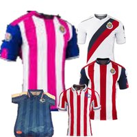 Wholesale DHL Mixed buy Mexico NEW year anniversary Guadalajara Chivas jersey Cougars Mexico Chivas Home Soccer Jersey Football Sh