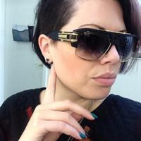 venda por atacado sunglasses in china-Dita Grandmonster Quatro óculos de sol com pacote de 1: 1 Óculos de sol mujer 2016 Óculos marca a partir China