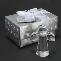 angels favours - Newest Design Crystal Furnishing Articles Baby Shower Favor Crystal Collection Crystal Angel Baby Favors Wedding Favour Gifts