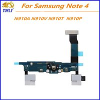 Wholesale New Flex Cable Relacement USB Charger Dock Charging Port For Samsung Galaxy NOTE N910A N910V N910T N920F N910P