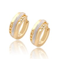 america days - Low Price Multicolour Copper Huggie Hollow Design Earrings For Women Xuping Brand Environmental Copper Jewelry Earrings Hot Sell In America