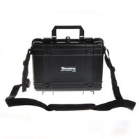 aluminium equipment case - Camera Bag Case Waterproof Safe Equipment Instrument Box Moistureproof Locking For Gun Tools Camera Laptop VS Ammo Aluminium