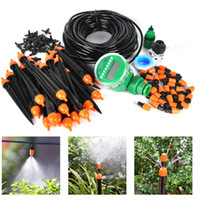 agricultural irrigation - High Quality IN1 Automatic Home Garden Hose Pipe Drip Irrigation Water Agricultural Dripper Sprinkler Kits