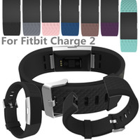 adjustable strap clasp - For Fitbit Charge2 charge Diamond Adjustable Silicone Straps Bands Fitness Replacement Accessories Wrist Band With Metal Clasp