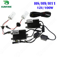 ballast for hid - 12V W Xenon Headlight H8 H9 H11 For Vehicle Headlight HID Conversion xenon Kit Car HID light with AC ballast KF K2002 H8