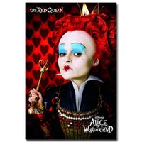 alice in wonderland decor - Alice in Wonderland Movie Art Silk Fabric Poster Print x36 inches Wall Pictures For Living Room Decor